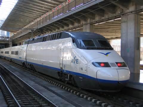 tren de alta velocidad (AVE)